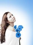 Azul Imagen de archivo