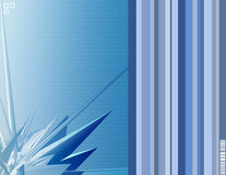 Azul ilustración del vector
