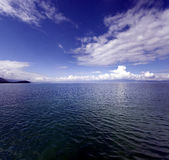 Azul 8 de Ohrid Foto de Stock Royalty Free