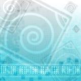 Azul abstracto Imágenes de archivo libres de regalías