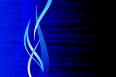 Azul abstracto Fotos de archivo