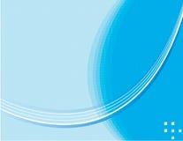 Azul abstracto de la composición Foto de archivo libre de regalías