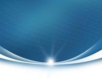 Azul abstracto del fondo ilustración del vector