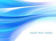 Azul abstracto del fondo libre illustration