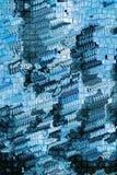 Azul abstracto del fondo Imagen de archivo
