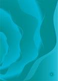 Azul abstracto del pavo real Imagen de archivo libre de regalías