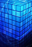Azul abstrato Fotos de Stock