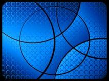 Azul abstrato do fundo 2 Foto de Stock