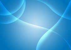 Azul abstrato do fundo ilustração do vetor