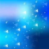 Azul abstrato do fundo Imagem de Stock Royalty Free