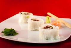 Azul-aleta Tuna Fish Futumaki California del sushi Fotos de archivo libres de regalías