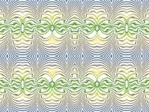 Azul-amarelo-verde Fotos de Stock