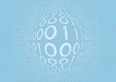 Azul binário Fotos de Stock Royalty Free