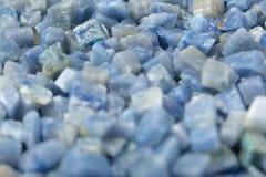 Azul boquira granite, crushed granite blue background. Azul boquira granite, crushed granite blue texture royalty free stock photo