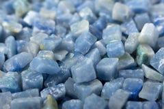 Azul boquira granite, crushed granite blue background. Azul boquira granite, crushed granite blue texture stock photo