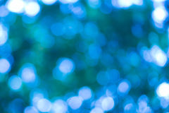 Azul brillante del bokeh hermoso Fotos de archivo libres de regalías