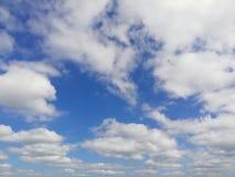 Azul-céu Imagem de Stock