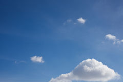 Azul-céu foto de stock