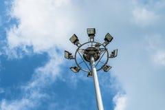 Azul-céu e nuvens foto de stock