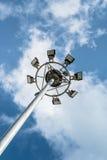 Azul-céu e nuvens imagens de stock