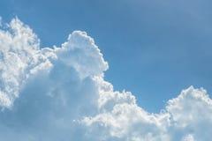 Azul-céu e nuvens imagem de stock royalty free