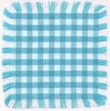 Azul checkered Imagen de archivo libre de regalías