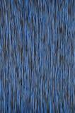 Azul colorido del negro del cable de la red Imagen de archivo