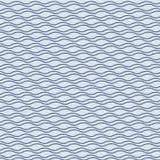 Azul com teste padrão ondulado pontilhado dos detalhes gráfico limpe o projeto para a tela, o evento, o papel de parede etc. ilustração stock