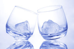 Azul como o gelo Imagens de Stock
