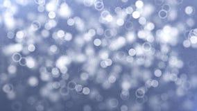 azul con las burbujas de jabón de levantamiento móviles que flotan y que levantan el lazo libre illustration