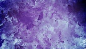 Azul contra fondo abstracto de acrílico púrpura Diseñe para los fondos, los papeles pintados, las cubiertas y empaquetar stock de ilustración