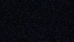 Azul cuadrado abstracto del fondo del código ilustración del vector
