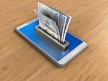 azul 3D Imagens de Stock Royalty Free