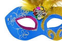 Azul da máscara Fotos de Stock Royalty Free