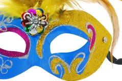 Azul da máscara Imagem de Stock Royalty Free