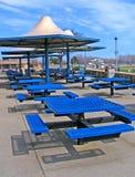 Azul da praia do metro imagens de stock royalty free
