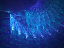 Azul da progressão Ilustração Royalty Free