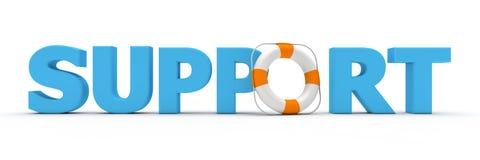 Azul da sustentação - correia de vida Foto de Stock