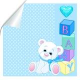 Azul de bebé Foto de archivo libre de regalías