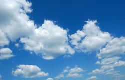 Azul de céu fotos de stock