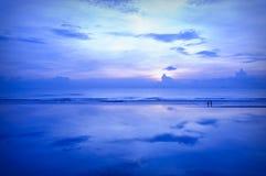 Azul de céus azuis Foto de Stock