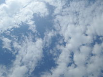 Azul de cielo Imagenes de archivo