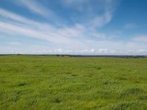 Azul de cielo del invierno del rancho de Folsom fotos de archivo libres de regalías