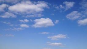 Azul de cielo - Timelaps HD almacen de video