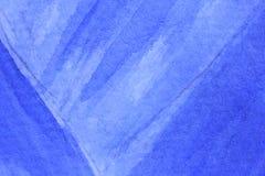 Azul de cobalto Hue Watercolor Background 11 Foto de archivo