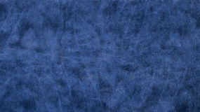 Azul de couro, liso Imagens de Stock Royalty Free