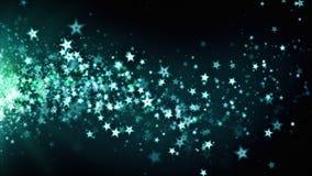 Azul de deriva de Stardust almacen de video