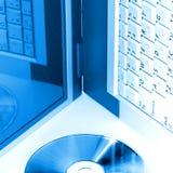Azul de Digitas Imagem de Stock Royalty Free