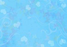 Azul de escritorio del papel pintado Foto de archivo