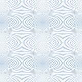 Azul de intervalo mínimo do foco macio psicadélico ilustração do vetor